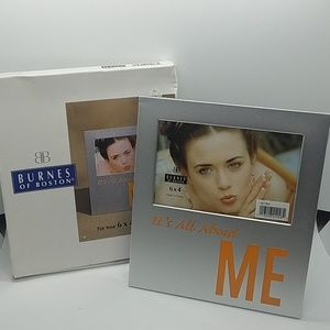 NWT~ It's All About Me 4×6 Photo Frame